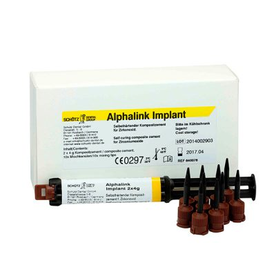 Alphalink Implant, 2x4g Syringe Incl. 10 Mixing Tips