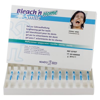 Bleach'n Smile Home Pfefferminz 18 % Nachfüll-Set