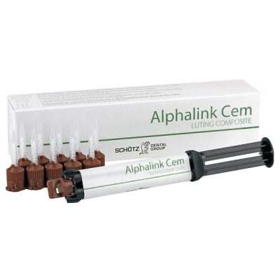 Alphalink Cem 2 x 4g cartridge incl. mixing cannula